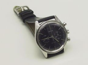 Rare 860 Omega De Ville Stainless Steel Chronograph Watch Serviced 12m Warranty